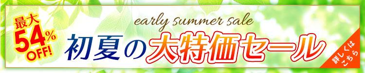 初夏の大特価セール