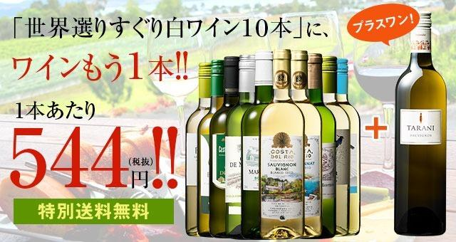 【特別送料無料】【53%OFF】世界選りすぐり白ワイン11本セット 第9弾