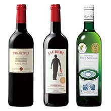 フランスメダル受賞ワイン3本半年コース第12弾 9月開始 (6回お届け)