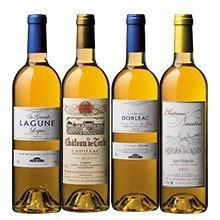 ソーテルヌ入り!ボルドー貴腐ワイン4アペラシオン飲み比べ4本セット