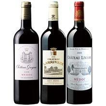 10年以上熟成!ボルドー格上メドック2008年赤ワイン3本セット
