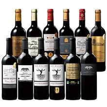 すべて金賞受賞!オーガニックワイン入りボルドー各地飲み比べ赤ワイン12本セット 第4弾
