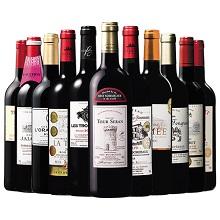 【12年連続NO.1記念企画】ボルドー最強級赤ワイン10本セット+10年熟成クリュ・ブルジョワ1本