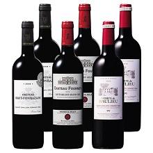 ボルドー右岸世界遺産サンテミリオン・グラン・クリュ ヴィンテージ飲み比べ6本セット