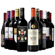 【49%OFF】世界11ヵ国を周遊!4冠金賞入り!世界銘醸地の赤ワイン11本セット