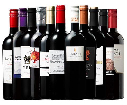 世界選りすぐり赤ワイン11本セット