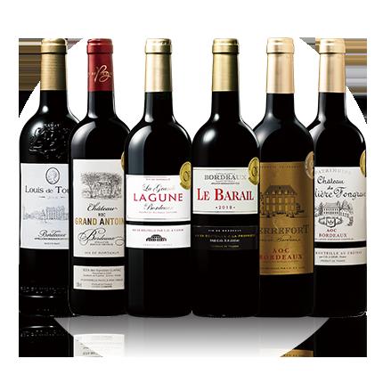 最新ヴィンテージを堪能!ボルドー2018年金賞赤ワイン6本セット