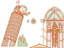 LESSON#026 芸術と美食とワインの国、イタリア!