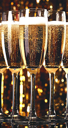 シャンパンのイメージ図