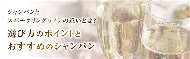 シャンパンとスパークリングワインの違いとは?選び方のポイントとおすすめのシャンパン