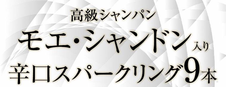 大好評のシャンパンセットをグレードアップ!!モエ・シャンドン入り実力派シャンパン5本