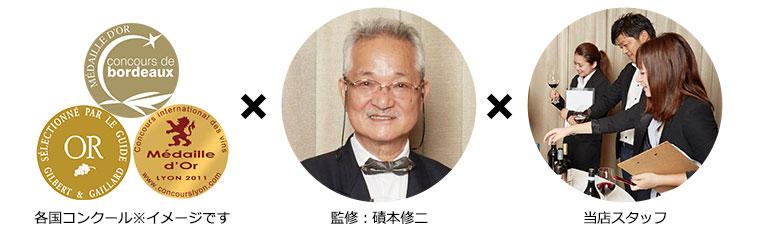 監修:磧本修二、各務寛子/当店スタッフ