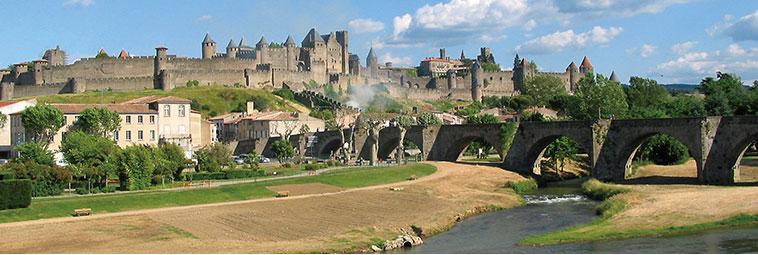 ルーション地方の古城