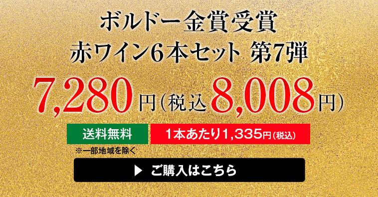 ボルドー金賞受賞赤ワイン6本セット 第7弾