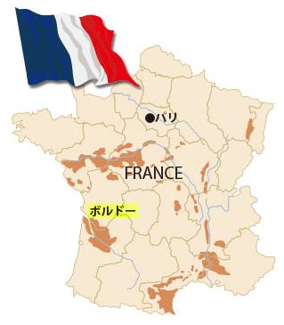 フランス地図