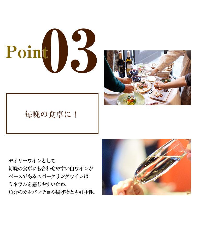 ポイント3/毎晩の食卓に!