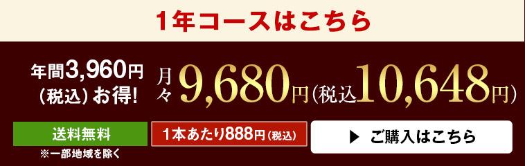 ボルドーお得12本セット第20弾(1年コース)