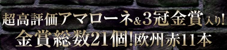 【55%OFF】超高評価アマローネ&3冠金賞&ワイン王国五ツ星入り!欧州最強級フルボディ赤11本