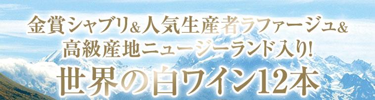 【42%OFF】金賞シャブリ&ラファージュ&高級産地ニュージーランド入り!世界銘醸地の白12本 第7弾
