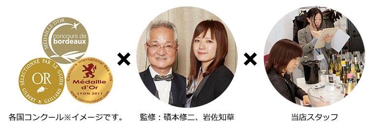 専属ソムリエ 監修:磧本修二、岩佐知草/マイワインクラブスタッフ