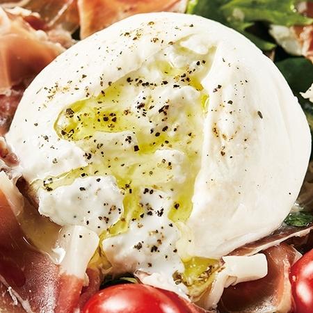 濃厚モッツァレラチーズ「ブッラータ」3個セット