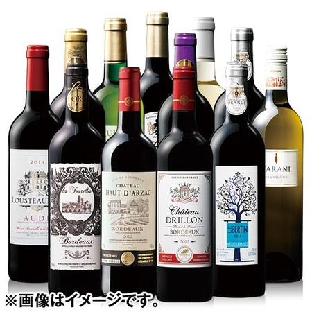 【決算大セール】フランスメダル受賞赤白ワイン12本福袋