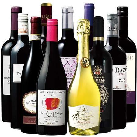 ミシュラン三ッ星生産者のボジョレー付!3大銘醸地のフルボディ赤ワイン9本セット
