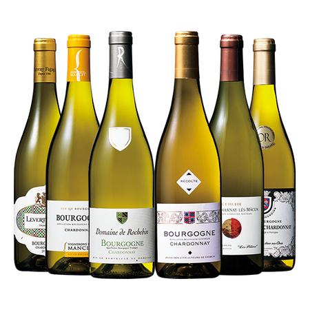 ブルゴーニュ地方満喫白ワイン6本セット